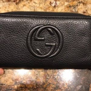 Large Gucci wallet